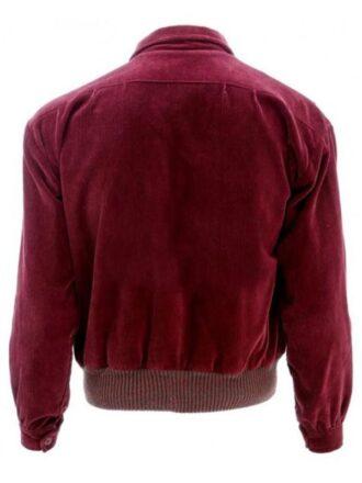 Jack Nicholson The Shining Red Velvet Corduroy Jacket