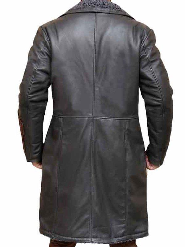 Jai Courtney Suicide Squad Fur Coat