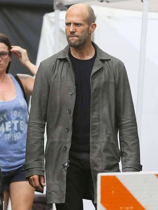 Jason Statham The Fate Of The Furious Grey Coat