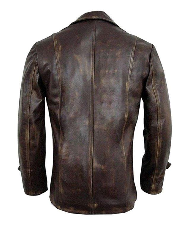 Jensen Ackles Supernatural S07 Leather Brown Jacket