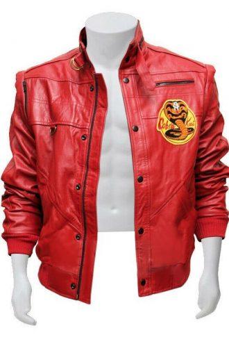 Johnny Lawrence Red Cobra Kai Jacket
