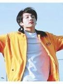 Jungkook Euphoria Apoc Yellow Bomber Jacket