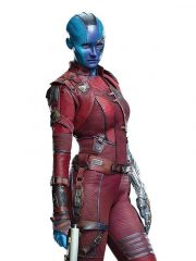 Karen Gillan Guardians of the Galaxy 2 Leather Jacket
