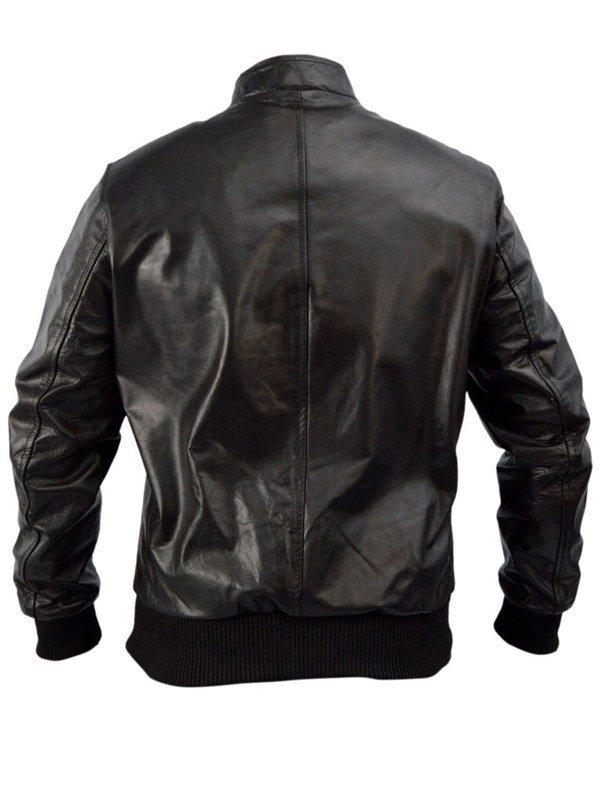 Kevin Ryan Castle Brown Bomber Jacket