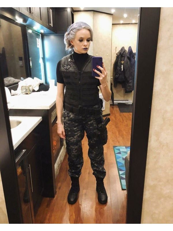 Killer Frost Caitlin Snow Black Leather Vest