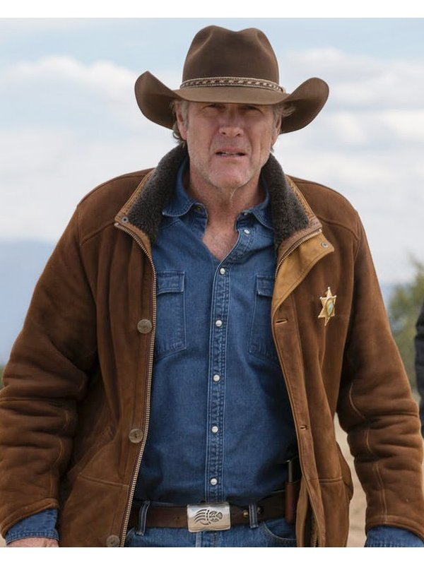 Longmire Robert Taylor Brown Coat