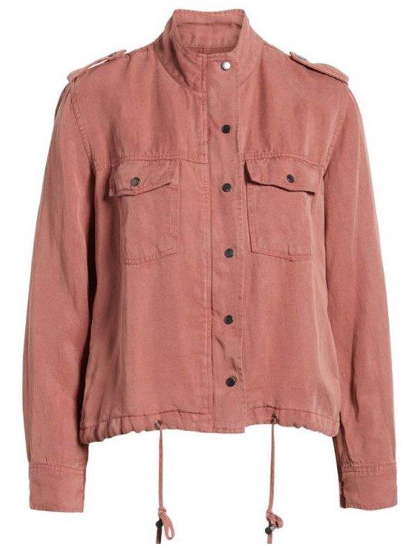 Lucifer Chasten Harmon Baby Pink Jacket