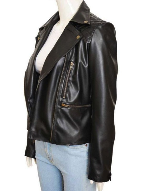 Lucifer Chloe Decker Black Leather Jacket