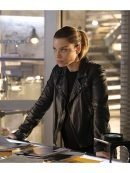Lucifer Chloe Decker Motorcycle Leather Jacket