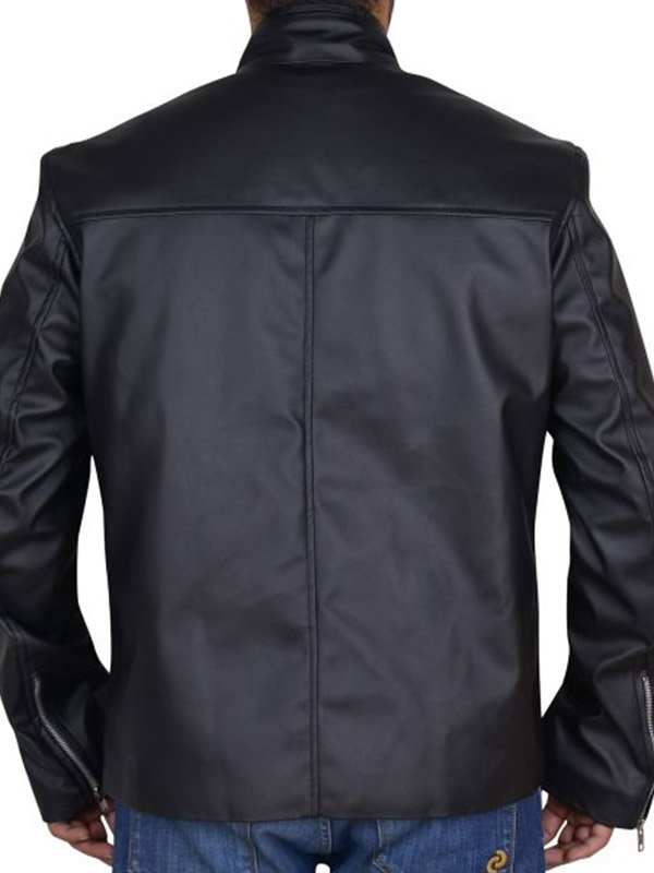 Lucifer Morningstar Biker Black Jacket
