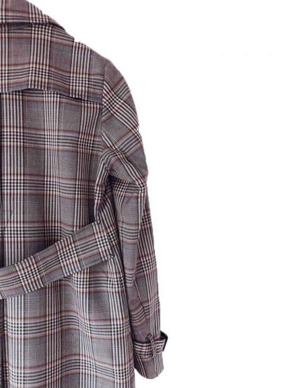 Lucifer S05 Lauren German Wool Trench Coat