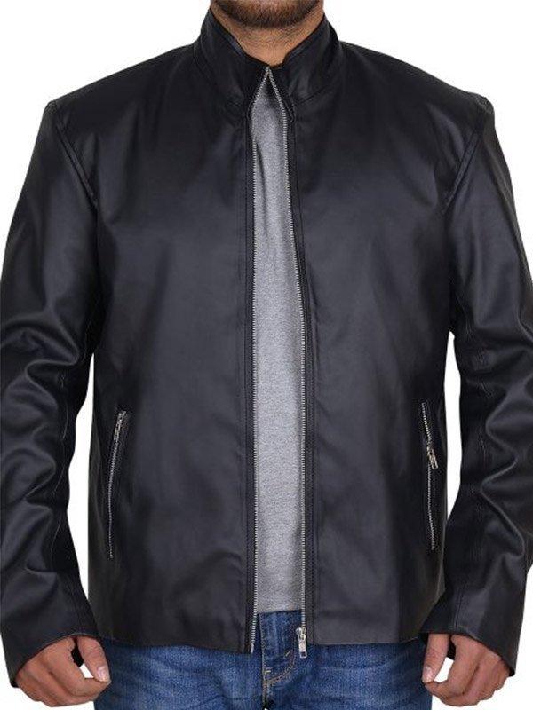 Lucifer Tom Ellis Black Jacket