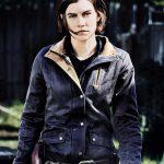 Maggie Greene The Walking Dead Denim Jacket