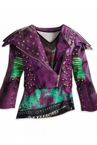 Mal Descendants 2 Studded Leather Jacket