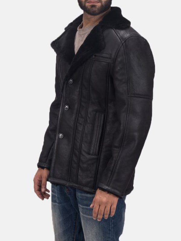 Mens Furcliff Double Face Shearling Coat