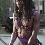Michonne The Walking Dead Leather Vest