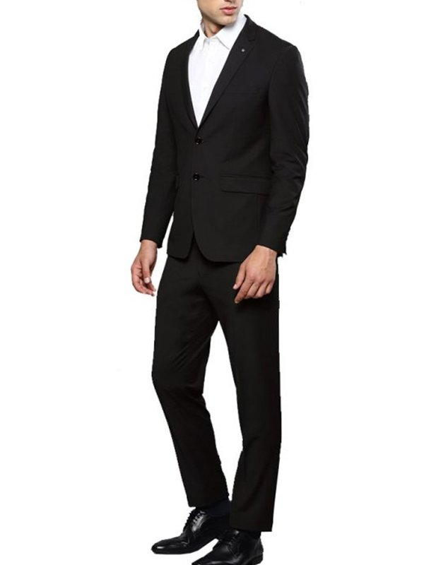 Morningstar Lucifer Black Suit For Mens