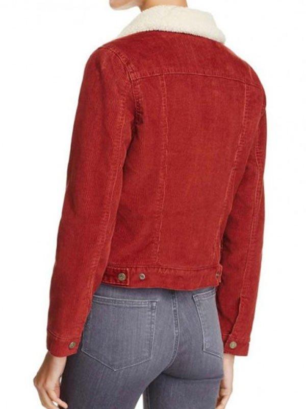 Nancy Wheeler Stranger Things Fur Collar Jacket