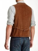 Newt Scamander Fantastic Beast & Where to Find Them Brown Corduroy Vest