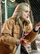 Orange Is the New Black Taylor Schilling Brown Cotton Jacket