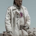 Raised By Wolves Marcus White Trench Coat