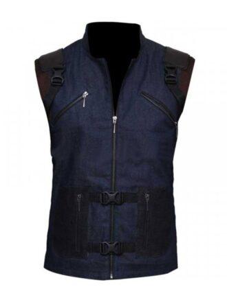 Rocket Raccoon Avengers Endgame Blue Vest