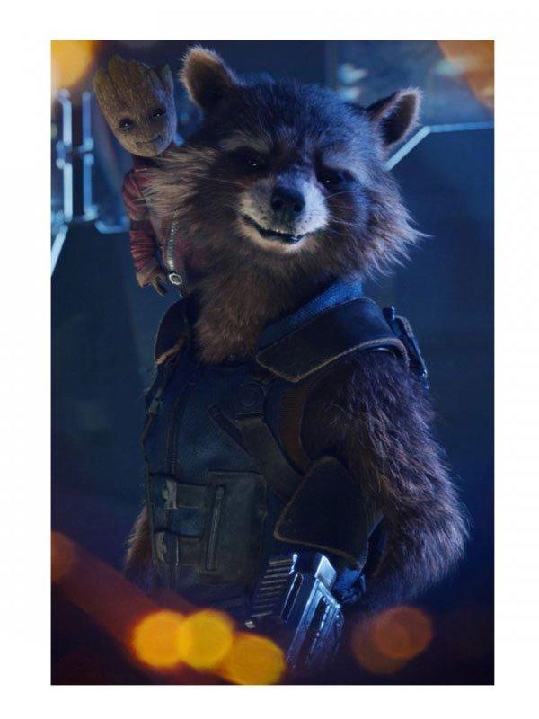 Rocket Raccoon Avengers Endgame Tactical Army Blue Vest
