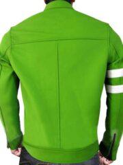 Ryan Kelley Alien Swarm Ben 10 Biker Leather Jacket