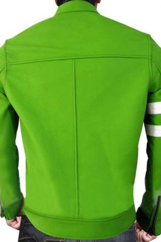 Ryan Kelley Alien Swarm Ben 10 Biker Leather Jacket