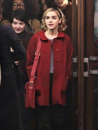 Sabrina Spellman Chilling Adventures of Sabrina Red Wool Coat