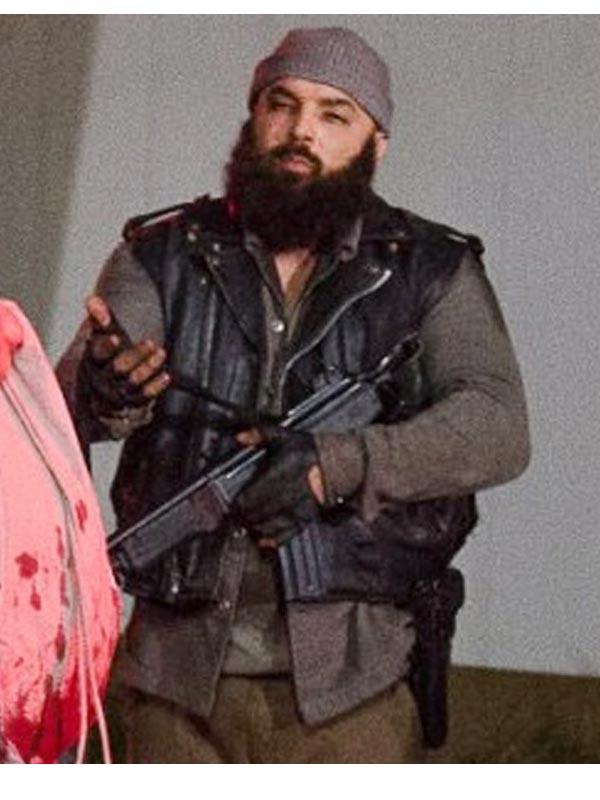 Savior Guard The Walking Dead Leather Vest