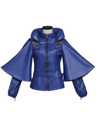 Sofia Carson Descendants Studded Leather Jacket