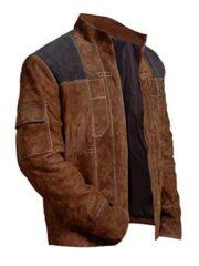 Solo A Star Wars Story Alden Ehrenreich Brown Jacket
