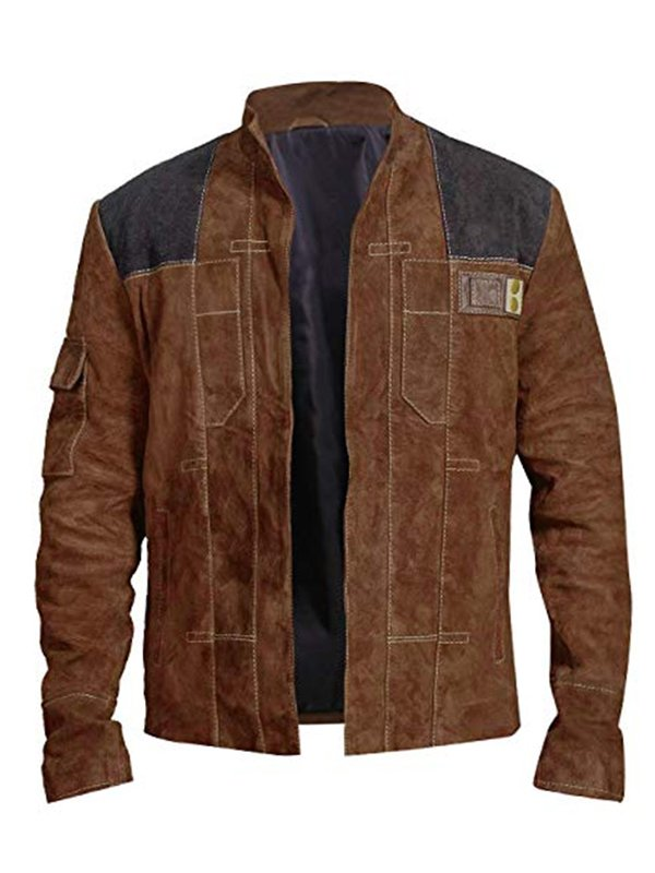 Solo A Star Wars Story Han Solo Leather Brown Jacket