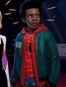 Spiderman Into the Spider-Verse Miles Morales Hoodie