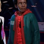 Spiderman Into the Spider-Verse Miles Morales Hoodie