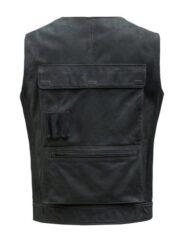 Star Wars A New Hope Harrison Ford Black Leather Vest