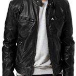 Steve Rogers Avengers Endgame Biker Leather Jacket