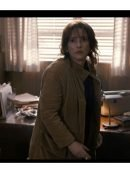 Stranger Things Winona Ryder Brown Corduroy Coat