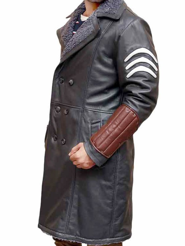 Suicide Squad Captain Boomerang Leather Coat