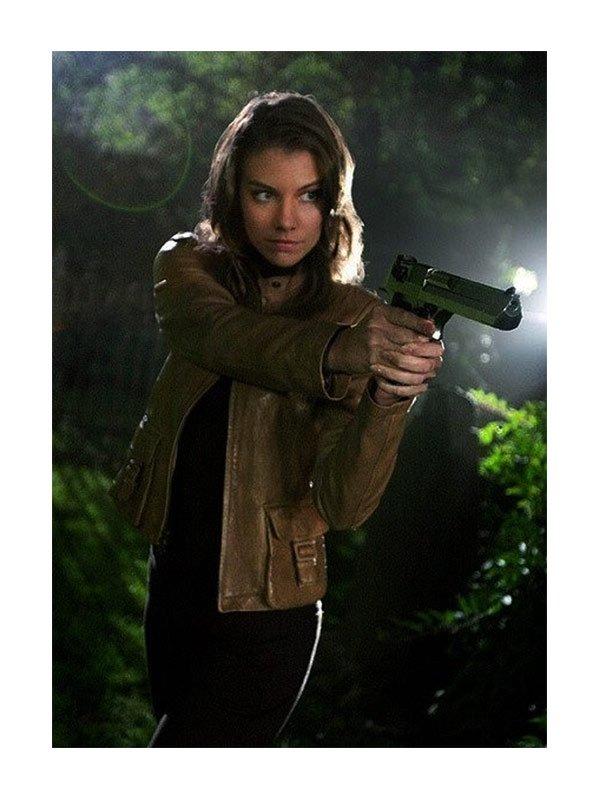 Supernatural Bela Talbot Brown Jacket