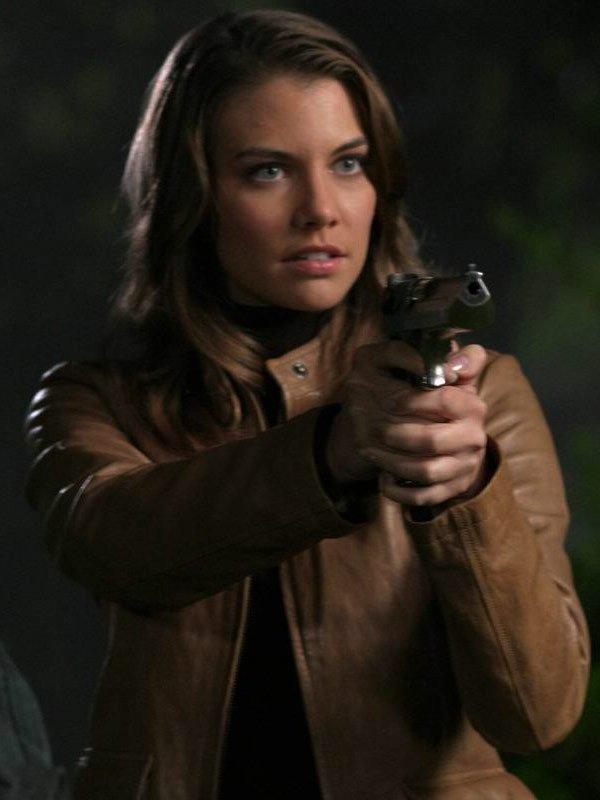 Supernatural Lauren Cohan Leather Jacket