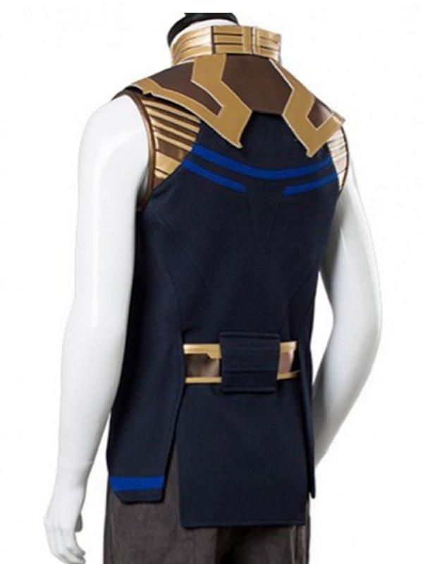 Thanos Avengers Infinity War Costume Leather Vest