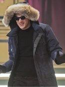 The Flash Captain Cold Blue Fur Coat