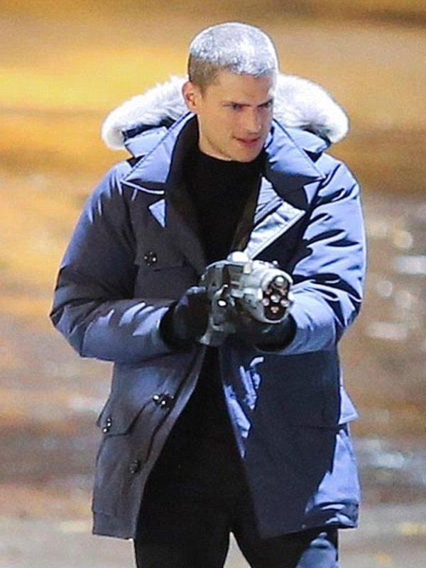 The Flash Captain Cold Fur Hooded Coat