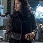 The Flash Cisco Ramon Black Letterman Jacket