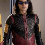 The Flash Cisco Ramon Vibe Leather Jacket