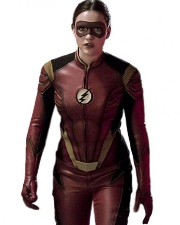The Flash Jesse Quick Leather Jacket