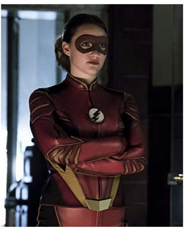 The Flash Jesse Quick Red Jacket