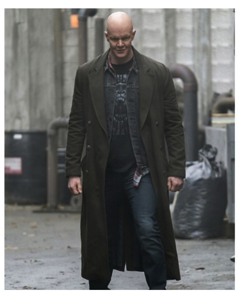The Flash S04 Ralph Dibny Trench Coat